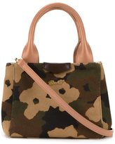 Muveil camouflage print tote