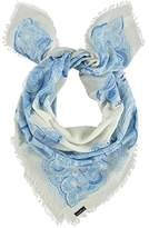 Fraas Women's Shawl - Blue -