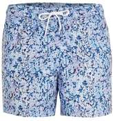 Topman Blue Ink Splat Swim Shorts