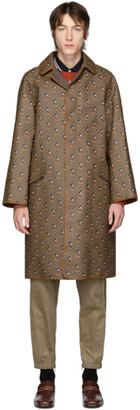Gucci Reversible Brown Disney Edition Supreme GG Mignon Coat