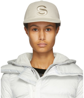 Sacai Off-White S Melton Wool Cap