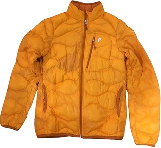 Peak Performance Orange Trench Coat for Women