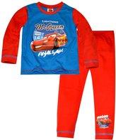 april fashion Disney Cars Boys Long Length Blue Pajama 2-5 Years