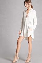 Forever 21 FOREVER 21+ Pinstripe Shirt Dress