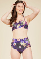 High Dive by ModCloth Know an Eccentric or Two Swimsuit Bottom in 1X