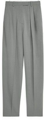 Arket Tapered High-Waist Trousers