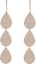 Irene Neuwirth Diamond Collection Women's Three-Drop Earrings