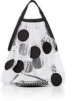 Maison Margiela Women's Polka Dot Leather & Mesh Tote Bag