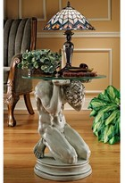Toscano Neoclassical Male Occasional End Table Design