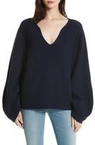 Brochu Walker Women's Anneka Wool & Cashmere Puff Sleeve Sweater