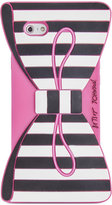 Betsey Johnson Bow Stripe Phone Case