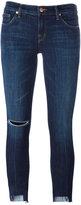 J Brand cropped jeans - women - Cotton/Polyester/Polyurethane - 28