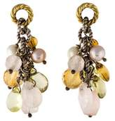 David Yurman Pearl & Multistone Drop Earrings