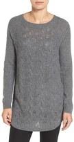 Caslon Split Back Sweater