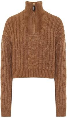Nanushka Eria cable-knit sweater