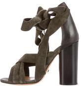 Isabel Marant Suede Tie Sandals
