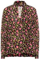 Balenciaga Floral silk blouse