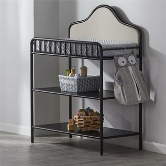 Little Seeds Piper Metal Changing Table Little Seeds Color: Black