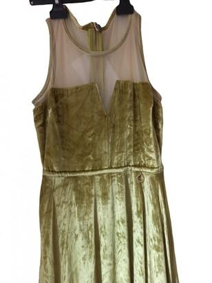 Mangano Gold Dress for Women