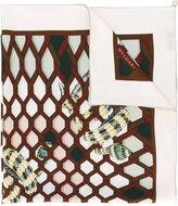 Bulgari snake print scarf