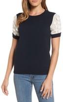 Draper James Women's Fleurette Sleeve Sweater
