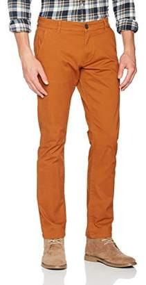 Selected Men's Shhthreeparis Glazed Ginger St Pant Noos Trouser, Brown, W31/L32 (Size: 31)