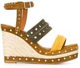 Lanvin espadrilles wedge sandals