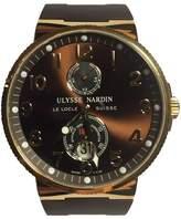 Ulysse Nardin Ulysse Nardine Marine Chronometer 266-66 Yellow Gold 43mm Mens Watch