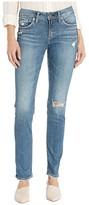 Silver Jeans Co. Avery High-Rise Curvy Fit Slim Leg Jeans in Indigo L94317SJL211 (Indigo) Women's Jeans