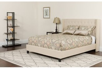 Cambree Tufted King Upholstered Platform Bed with Mattress Winston Porter