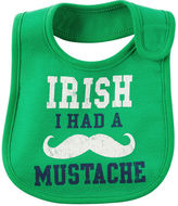 Carter's Irish I Had A Mustache Teething Bib