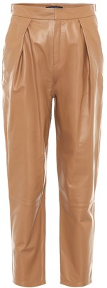 ZEYNEP ARCAY Tapered leather pants