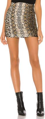 superdown Raquel Ruched Mini Skirt