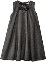 Dolce & Gabbana Back to School Flared Dress (Big Kids)