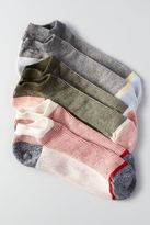 American Eagle Outfitters AE Striped Shortie Socks 3-Pack