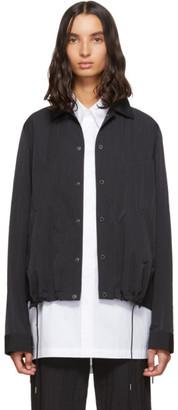 Fumito Ganryu Black Side Ventilation Coach Jacket