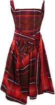 Vivienne Westwood Red Sunday Check Dress,
