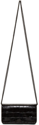 Balenciaga Black BB Phone Case Chain Shoulder Bag