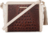 Brahmin Carrie Pecan Soriano Small Crossbody
