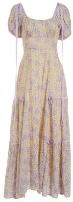 LoveShackFancy Jessie Floral Dress