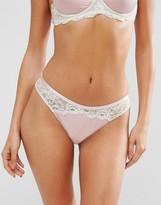 Asos Valerie Satin Hipster Bikini Bottom