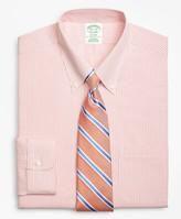 Brooks Brothers Milano Slim-Fit Dress Shirt, Non-Iron Double Mini-Windowpane