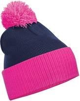 Beechfield Boys Snowstar Duo Two-Tone Winter Beanie Hat