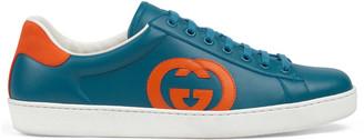 Gucci Men's Ace sneaker with InterlockingG