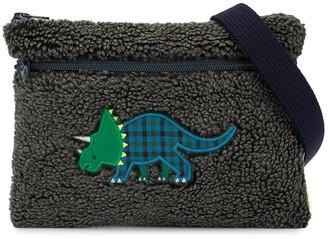 Familiar Textured Dinosaur Shoulder Bag