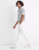 Madewell Slim Everyday Flex Jeans in Tile White