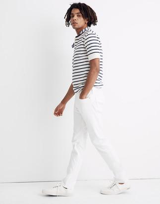 Madewell Slim Everyday Flex Jeans in Tile White