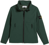 Stone Island Lightweight Techno Stand Collar Jacket, Size 12