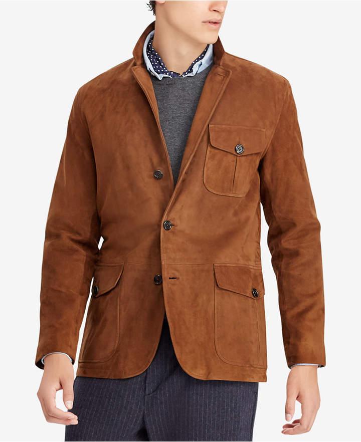 Polo Ralph Lauren Men's Classic Fit Suede Sport Coat