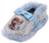 Disney Frozen Girls' Anna and Elsa Slippers XL/11-12
